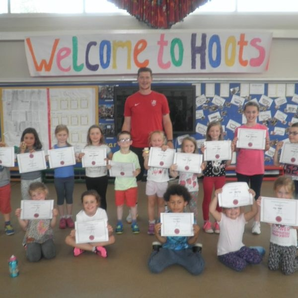 hoots holiday club toftwood infant school