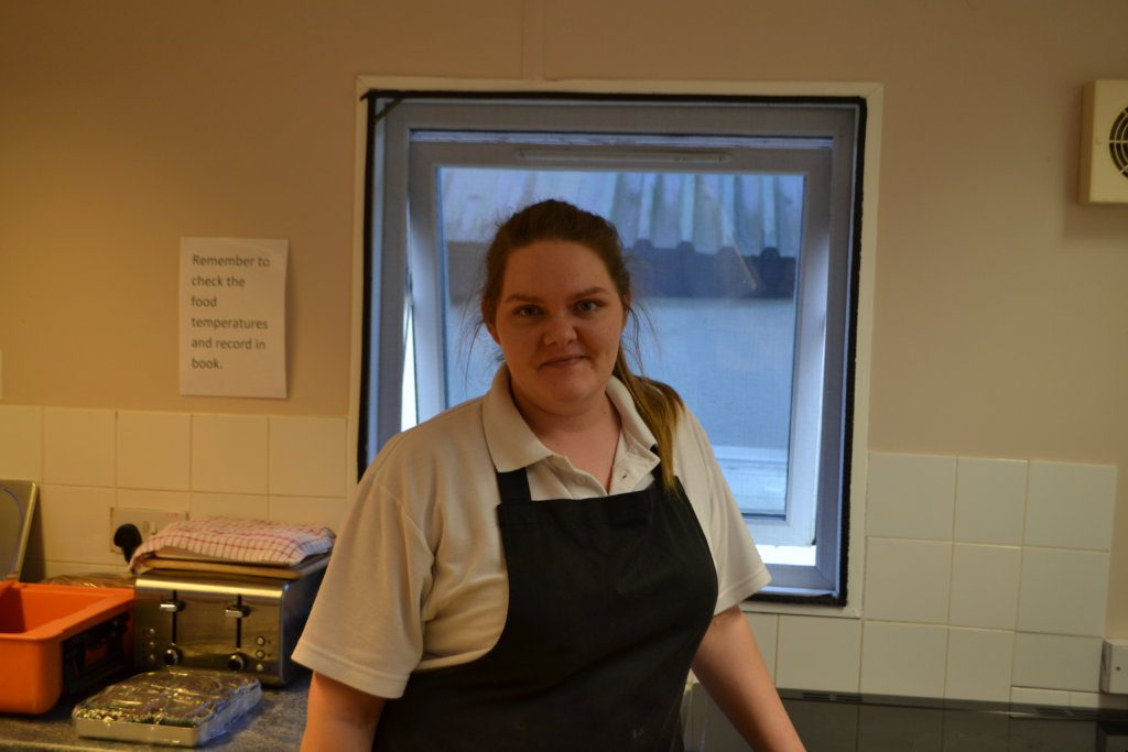 Meet Annie, our lovely Scarning Chef