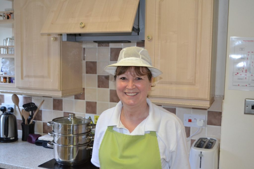 Meet Sandra, our lovely Tofwood Chef.
