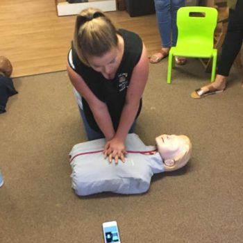 Save A Babies Life Training At Little Owls Nursery Scarning (1)