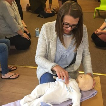Save A Babies Life Training At Little Owls Nursery Scarning (6)
