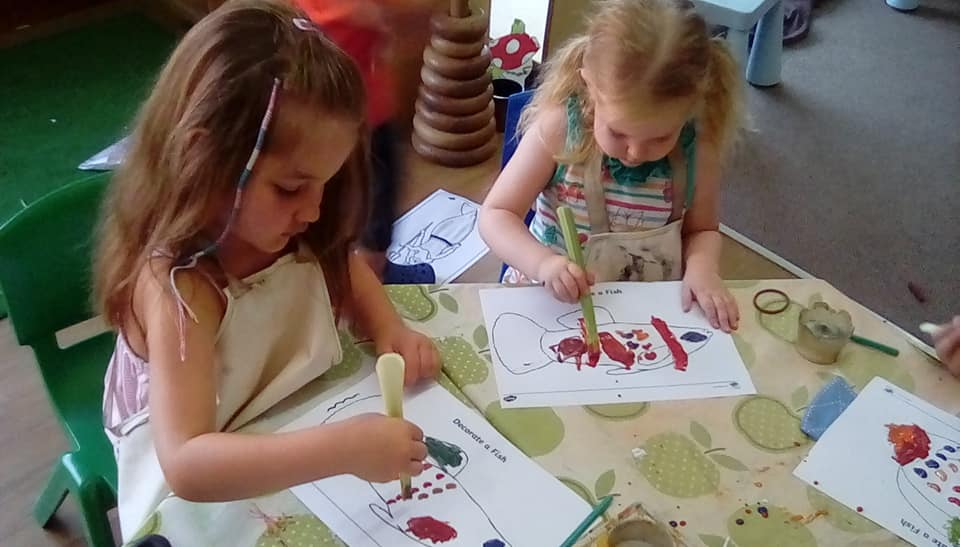 "All Things ""Under the Sea""  Barn Owls at Little Owls Nursery"
