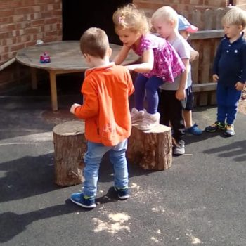 Barn Owls At Little Owls Day Nursery Do Obsticles (1)
