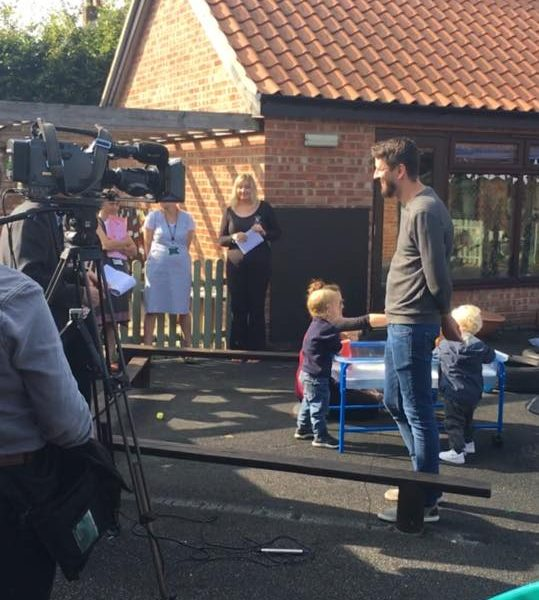 Film Crew Coming To Little Owls Day Nursery. Childcare In Norfolk (2)