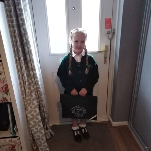 First Day At School For Our Little Owls Day Nursery Children (1)