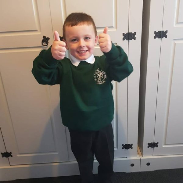 First Day At School For Our Little Owls Day Nursery Children (3)
