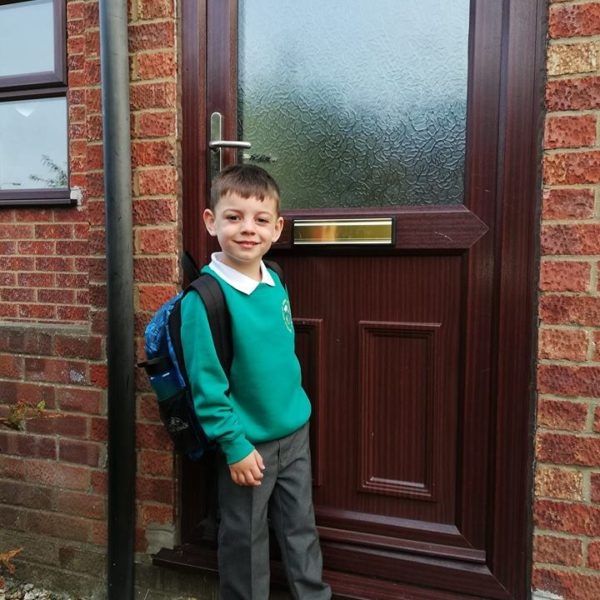 First Day At School For Our Little Owls Day Nursery Children (4)