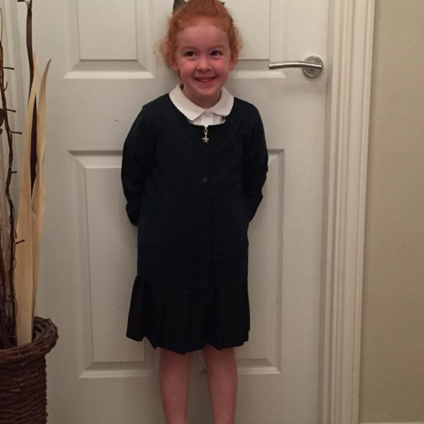 First Day At School For Our Little Owls Day Nursery Children (6)