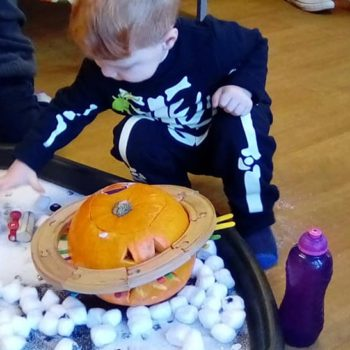 Spooked Theme Day At Little Owls Day Nursery Toftwood Near Watton Norfolk (2)