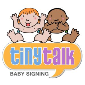 baby singing tiny talk logo