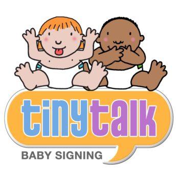 baby singing tiny talk logo