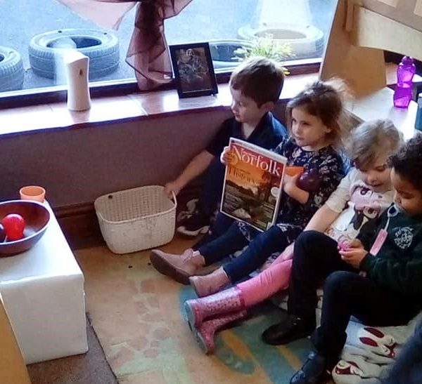 Little Owls Day Nursery Near Norwich Have Been Creating A Home Corner (1)