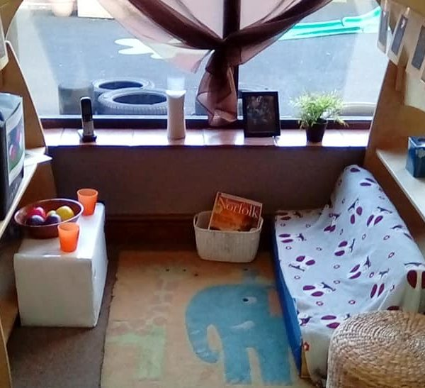 Little Owls Day Nursery Near Norwich Have Been Creating A Home Corner (3)