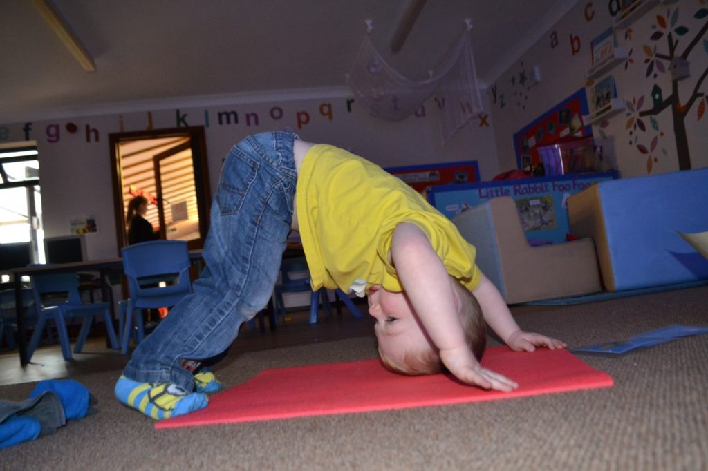 Mini Me Yoga At Little Owls