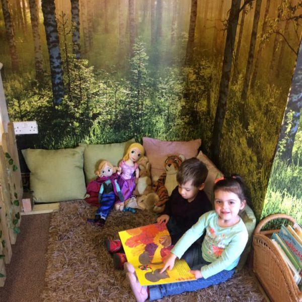 The Reading Corner At Little Owls Nursery Near Norwich (1)