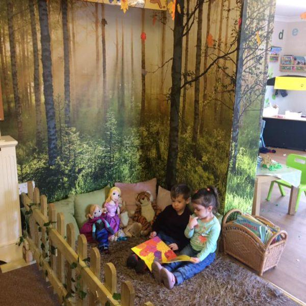 The Reading Corner At Little Owls Nursery Near Norwich (2)