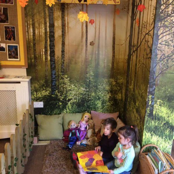 The Reading Corner At Little Owls Nursery Near Norwich (3)
