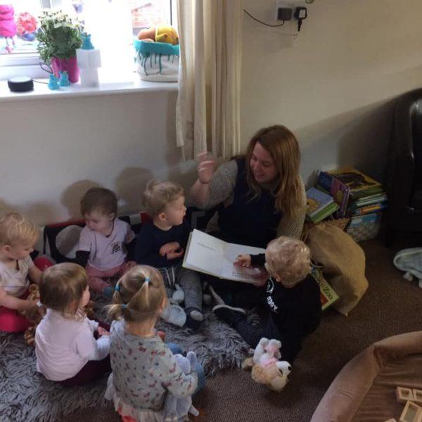 Dear Zoo Story Time At Little Owls Day Nursery Near Norwich (3)