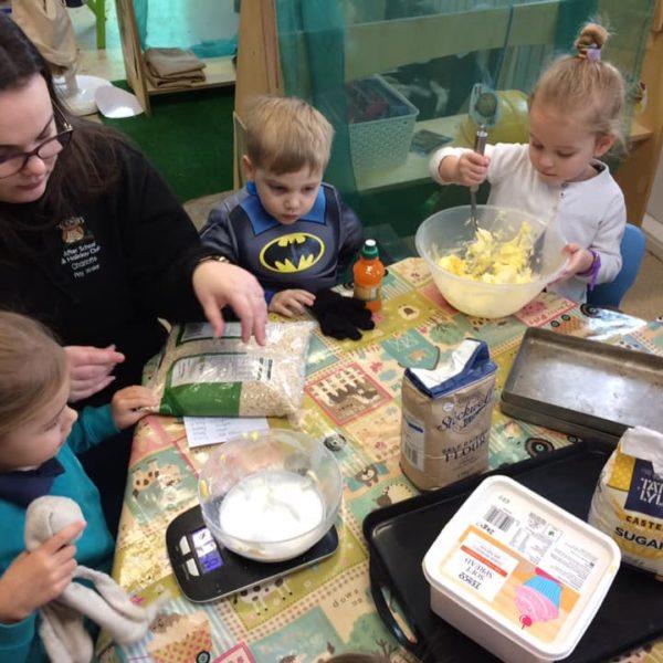 Healthy Baking At Little Owls Day Nursery Near Norwich (4)