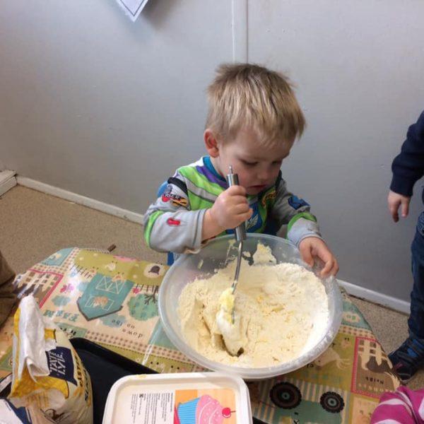 Healthy Baking At Little Owls Day Nursery Near Norwich (7)
