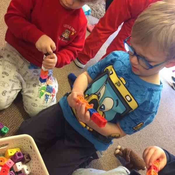 Interlocking Cubes Little Owls Nursery Near Norwich (3)