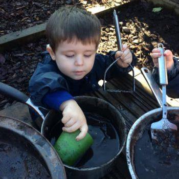 The Mud Kitchen At Snowy Owls Day Nursery Near Norwich Norfolk (3)