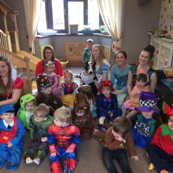 Wold Book Day At Little Owls Day Nursery Near Norwich