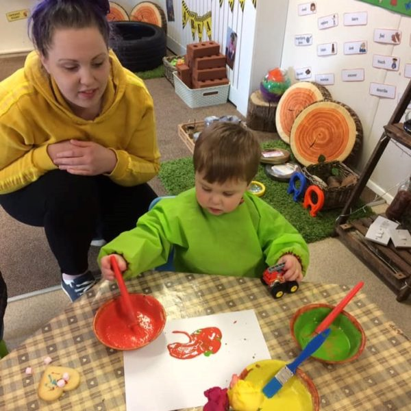 Mothers Day Celebrations At Little Owls Day Nursery Near Norwich (9)