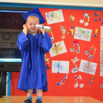 Little Owls Day Nursery Near Norwich Hold Their Graduation (2)