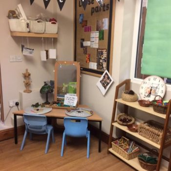 A Beautiful Loose Parts Area At Little Owls Nursey (4)