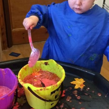 Halloween Themed Activities At Little Owls Day Nursery Norfolk (3)