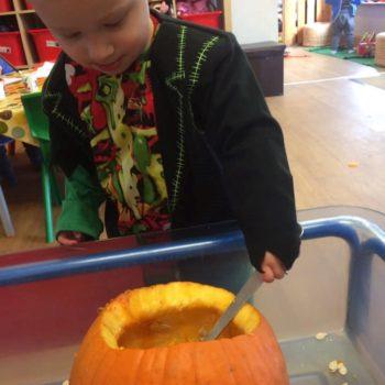 Halloween Themed Activities At Little Owls Day Nursery Norfolk (5)