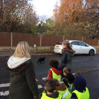 Learning Road Safety At Little Owls Norfolk (1)