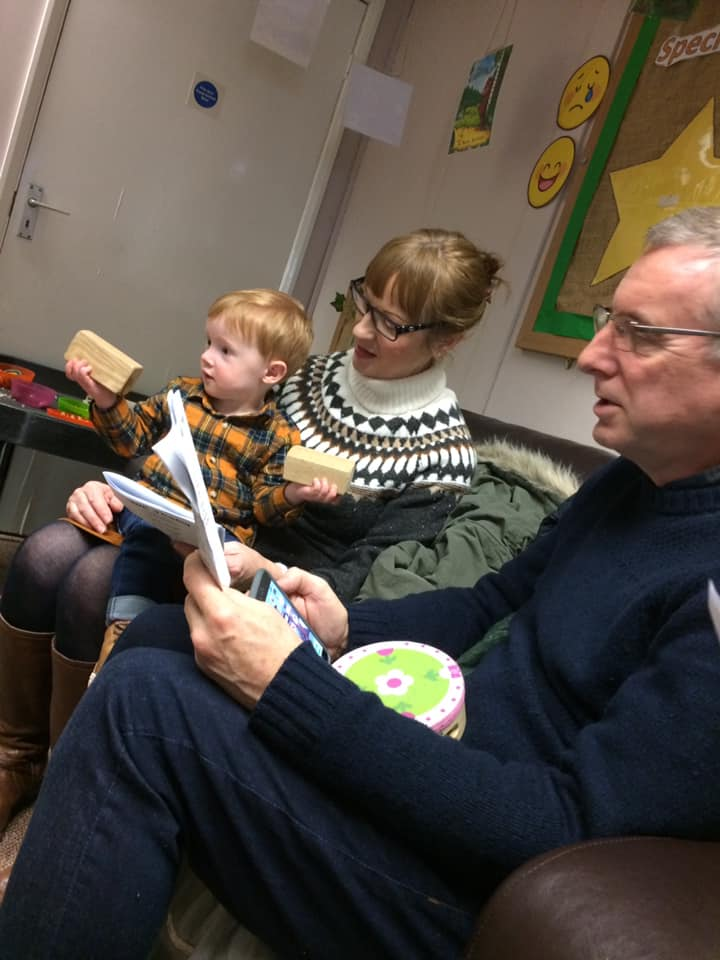 Grandparent Christmas Carol Cafe At Little Owls Norsery Norfolk (6)