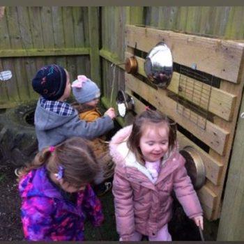 exploring the grass garden