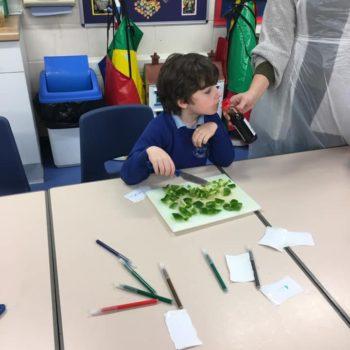Vegitable Stir Fry At Hoots After School Club Dereham (2)