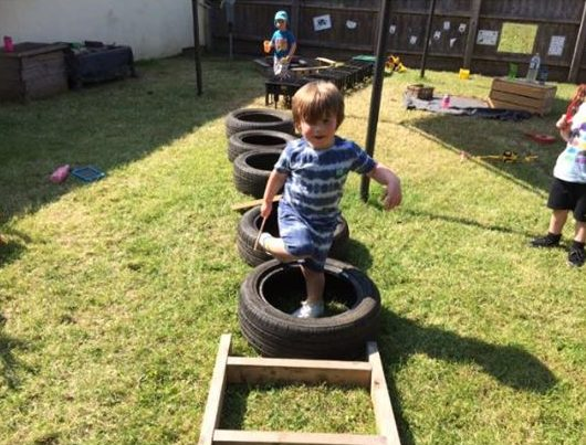 Obstacle Course At Little Owls