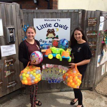 Little Olws Thank Morrisons For Their Generosity (12)
