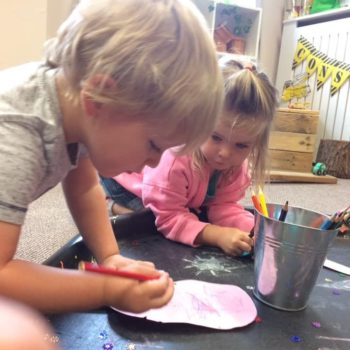 Decorating Ice Lollies At Little Owls Near Swaffham Norfolk (3)