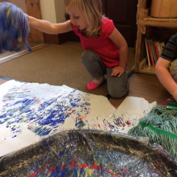 Little Owls Getting Messy (3)