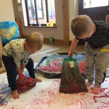 Little Owls Getting Messy (4)