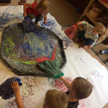 Little Owls Getting Messy (5)