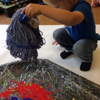 Little Owls Getting Messy (9)