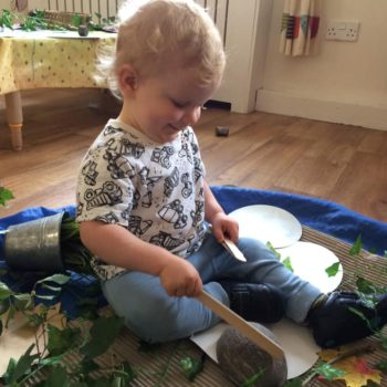 Natural Resources Are Being Used At Little Owls Day Nursery (1)