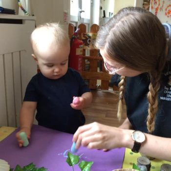 Natural Resources Are Being Used At Little Owls Day Nursery (12)