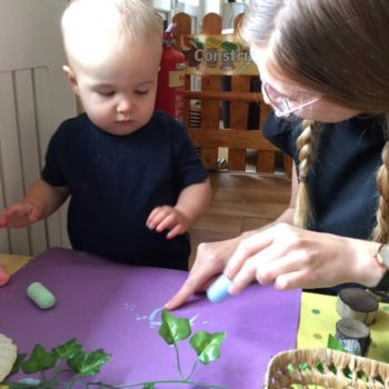 Natural Resources Are Being Used At Little Owls Day Nursery (5)