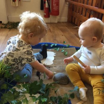 Natural Resources Are Being Used At Little Owls Day Nursery (6)