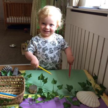 Natural Resources Are Being Used At Little Owls Day Nursery (7)