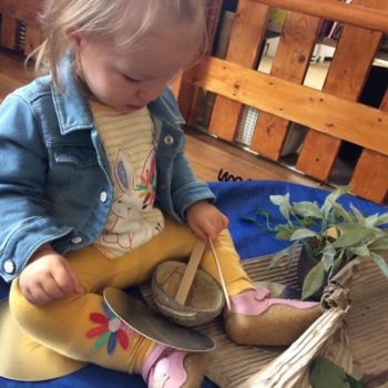 Natural Resources Are Being Used At Little Owls Day Nursery (8)