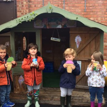 Selling Icecreams At Little Owls Dereham (4)